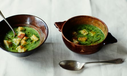 new potatoes make a wonderfully savoury soup in this fragrant dish.