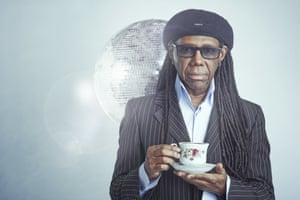 Nile Rodgers photographed in London NW1.
