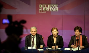 Ukip's Patrick O'Flynn, Suzanne Evans and Diane James unveil the party's policies for women.