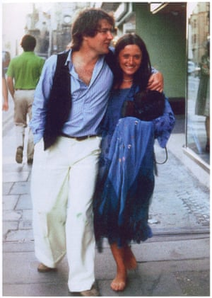 A young Rick and Jill in Oxford.