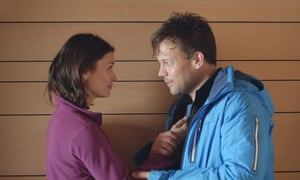 Facing up to guilt: Ebba and Thomas in Force Majeure.