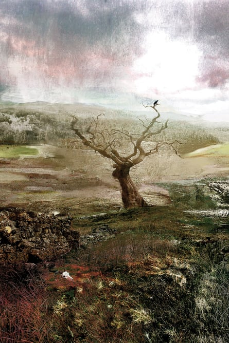 MR James portrays the landscape – especially the English landscape – as constituted by uncanny forces, and part-buried sufferings. Illustration by David McConochie