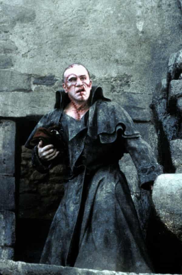 Robert DeNiro in Mary Shelley's Frankenstein (1994).