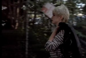Madonna works a Breton top in Papa Don't Preach