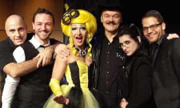 The Grindr the Opera crew.