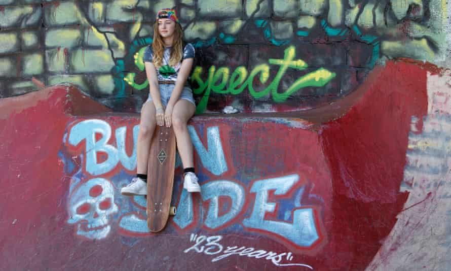 Burnside Skate Park in Portland.