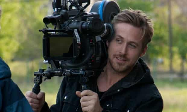 Ryan Gosling on the set of Lost River.