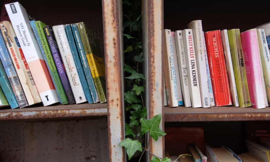 Secondhand books for sale: worth a penny or two.