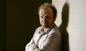 The actor Toby Jones, one of the cast of BBC1's forthcoming drama series Capital.