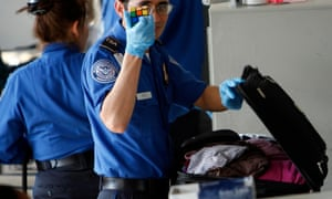 Since 2003, America's Transportation Security Administration has required all locked baggage to have Travelsentry locks, which allow anyone with a widely held master key to open them.