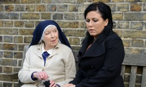 Absolutely dear, you look fabulous… Sister Ruth(June Whitfield) has some advice for Kat Slater (Jessie Wallace).