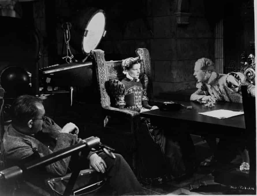 John Ford directs Hepburn.