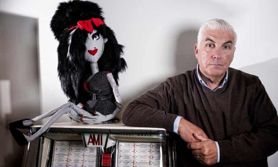 Mitch Winehouse, father of Amy.