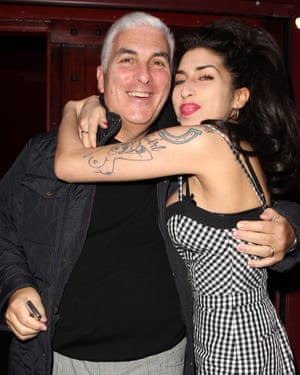 Mitch Winehouse and his late daughter, Amy, in 2010