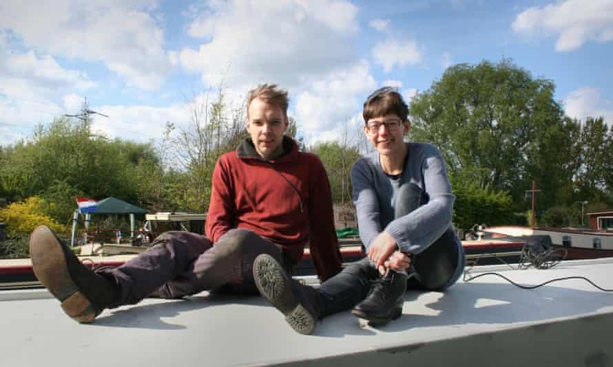 Dave and Sanna Jonsson Buttery.