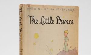 Dorothy Barclay's first edition of Antoine de Saint-Exupéry's The Little Prince