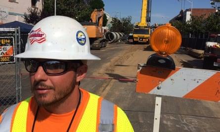 California high-speed train construction