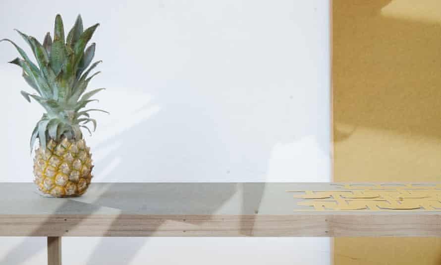A Gradual Stiffening (Pineapple), by Eleanor Wright and Sam Watson.