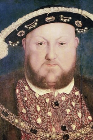 A portrait of Henry VIII by Hans Holbein