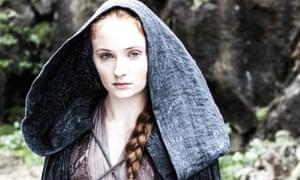 More luck than Sansa? Sophie Turner.