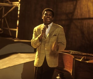 Ben E. King performing on Ready Steady Go! performing live at Wembley Studios in 1966
