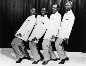 The Drifter in 1958: Charlie Thomas, Ben E. King, Dock Green and Elsbeary Hobbs