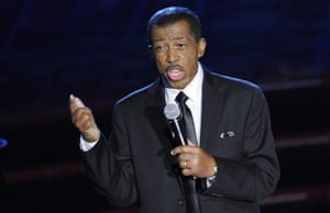Ben E King performing at the Songwriters Hall of Fame 2012 Annual Induction and Awards Ceremony in New York