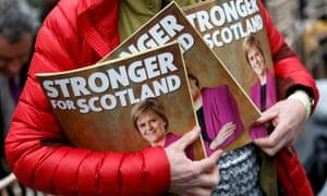 SNP supporter