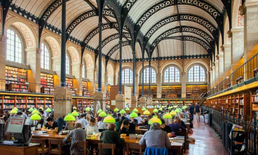 Sainte Geneviève library Paris
