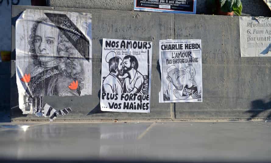 Charlie Hebdo offices in Paris