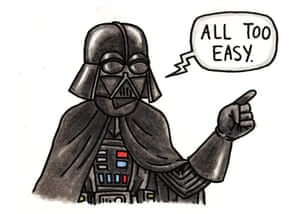 How to draw Darth Vader  Childrens books  The Guardian