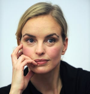 Nina Hoss: 'German actors tend to be laid-back.'