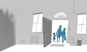 Adam Gale illustration about renting