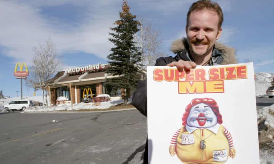 Morgan Spurlock, director of 'Super Size Me'.