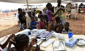 Central African Republic healthcare clinic
