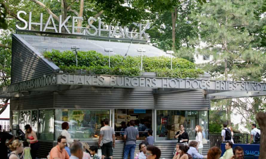 Shake Shack in Manhattan, New York.