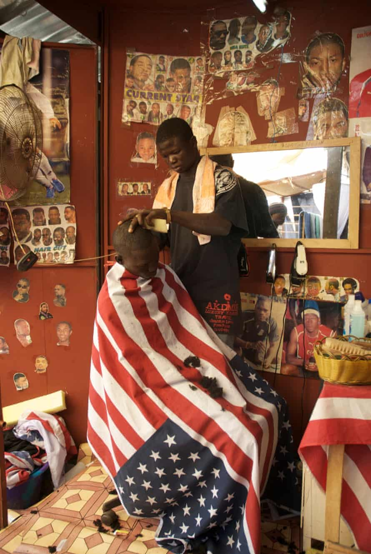 Untitled (2007) Barbershop, Gambia.