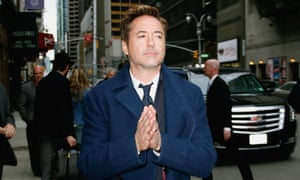 Robert Downey Jr praying not to be in an indie film in New York.