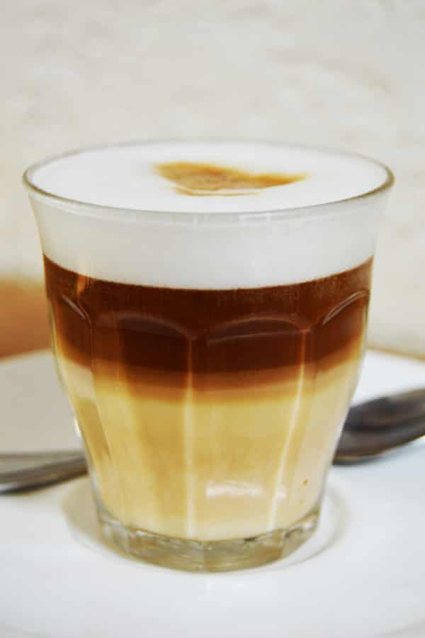 The exquisite Ethiopian macchiato.