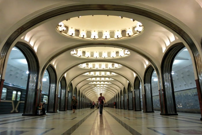 Celebrate The Moscow Metros Th Birthday With A Journey Through - The 12 most beautiful metro stations in the world