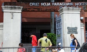 The 10-year-old is staying at a Red Cross hospital in Asuncion.