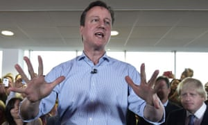 Controlled passion … the Tory campaign was a dispiriting exercise in media control.