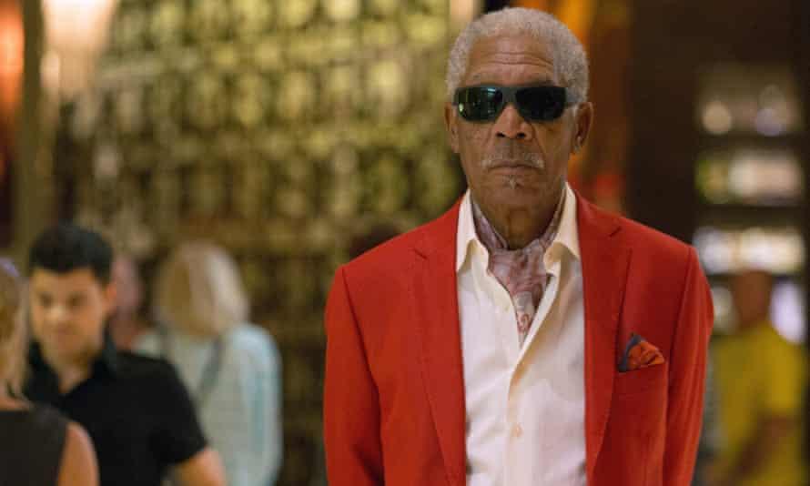 'How do I take it? However it comes!' ... Morgan Freeman on cannabis.