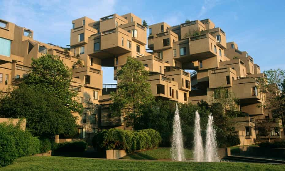Designed for Montreal's 1967 Expo, Habitat 67 was a wildly ambitious attempt to reimagine apartment living.