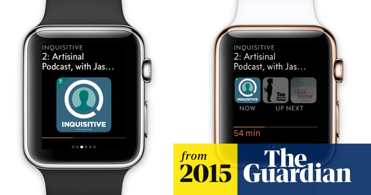 Apple Watch: 'Trying to match the structure of the iOS app