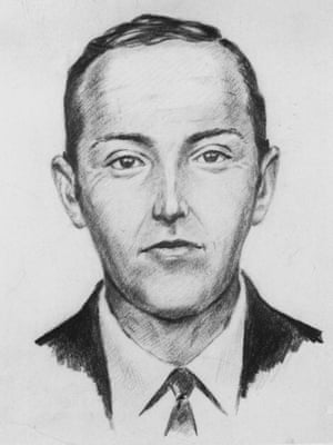 FBI sketch of DB Cooper