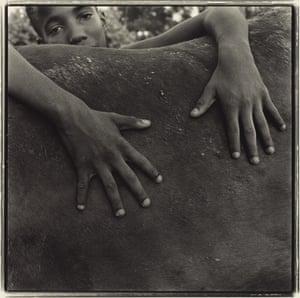 Goodbye to a Horse, 1993, Keith Carter, gelatin silver print