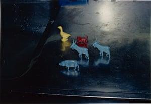 Memphis, negative, 1971; print, 1974, William Eggleston, dye imbibition print