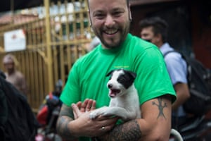 Adam Parascandola, Humane Society International's director of crisis response, is leading staff and volunteers in Nepal to care for the animals affected by the earthquake. He says the biggest issue is stressed livestock who are vulnerable to disease.