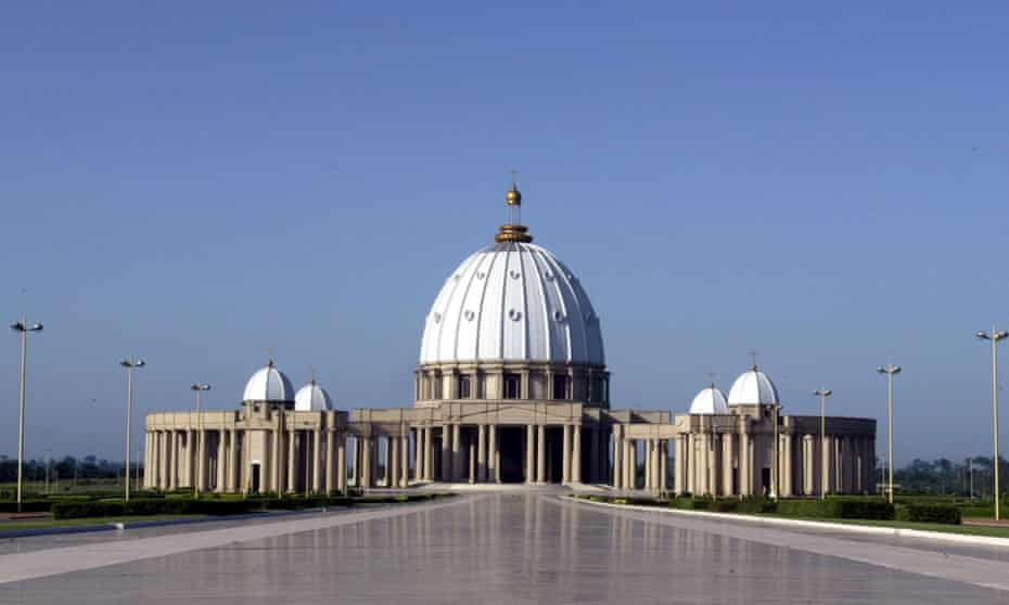 Completed in 1989 for an estimated $300m, the basilica is said to have doubled Ivory Coast's national debt.